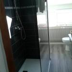 Aménagement de combles : création d'un espace salle de bain avec douche
